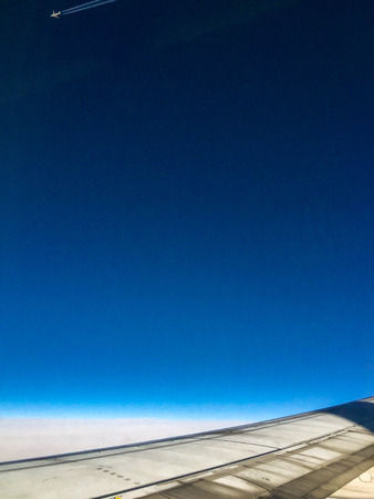 A view from up in the stratosphere.