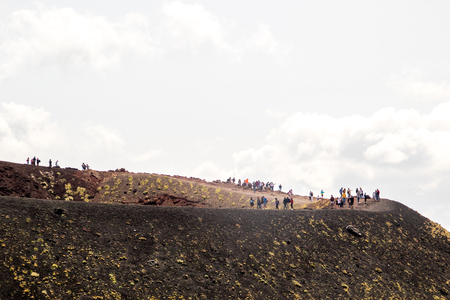 One of the world's most active volcanoes, Mount Etna. It's breathtaking views are difficult in places to take in due to vast landscapes.