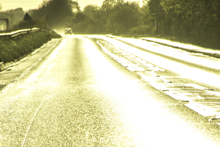 Road Glare is a HUGE issue at this time of year with the low set sun and wet road causing a danger of glare to drivers.