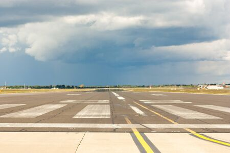 A view of a runway at one of the UK's largest growing airports.