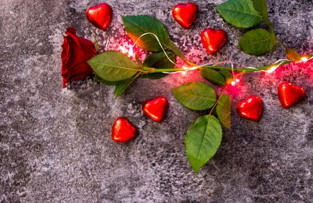A sign of love on Valentine's Day, 14th February. A time of year for all to show their affection for their partners or those they admire.