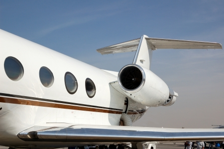Gulfstream business jet photo