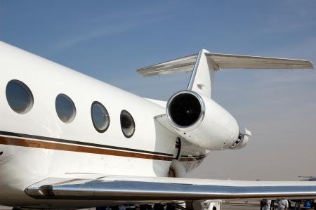 aerospace industry: Gulfstream business jet