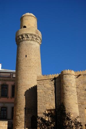 baku: Mosque in Ichari Shahar - Inner city of Baku