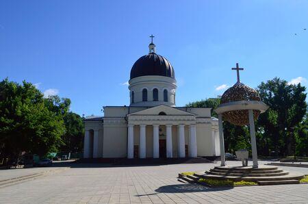 Cathedral of the Nativity of Christ in Kishinev, Moldova 版權商用圖片