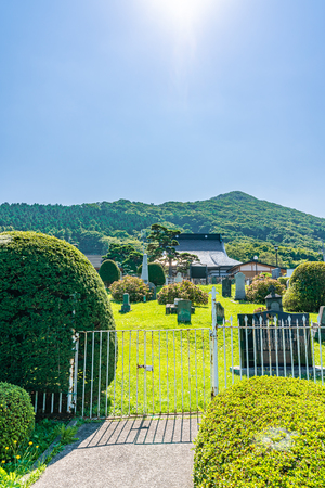 Hokkaido scenery in summer, Foreigners' Cemetery Editorial