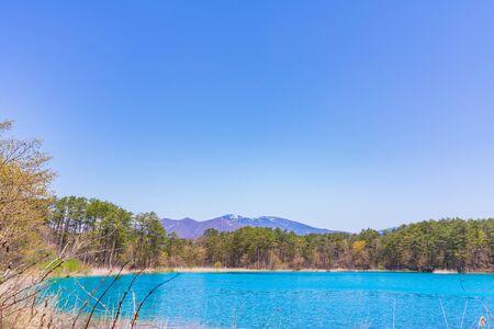 Fukushima Prefecture Urabandai, Benten-numa of Goshikinuma