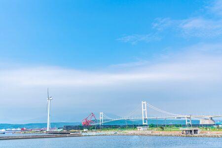Hokkaido Muroran, View of the Syukuzu-Rinkai Park