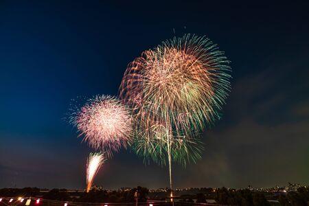 Summer in Japan, Itabashi Fireworks Festival