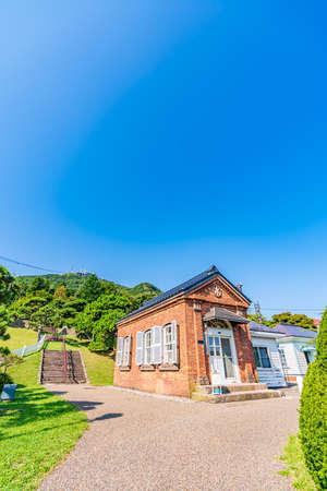 Hokkaido Summer, Guardhouse of Motomachi Water Distribution Station