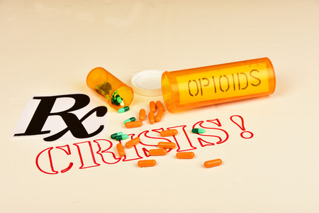 Signs and symbols of opioid/drug addiction.