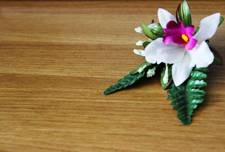 Flower and wood