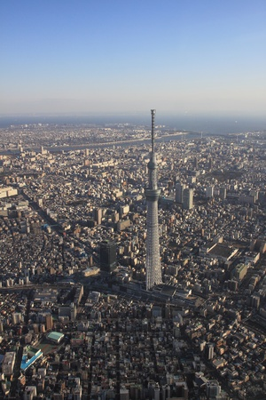 bluesky: Tokyo New Landmark, Tokyo Sky Tree Editorial