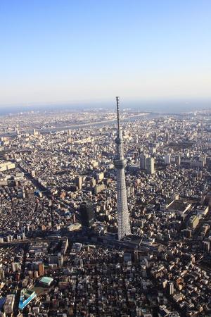 Tokyo New Landmark, Tokyo Sky Tree Stock Photo - 13043335