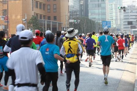 Runner for Tokyo Marathon