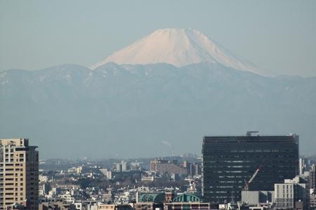 Mt  Fuji from Tokyo, Japan