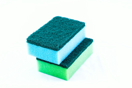 cleaners, household cleaning sponge for cleaning photo