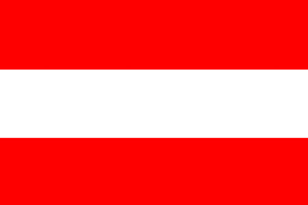 all european flags: Flag of Austria
