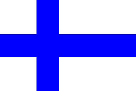 all european flags: Flag of Finland