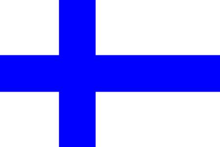 all european flags: Flag of Finland