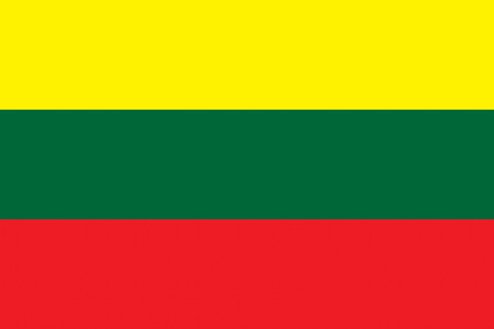 all european flags: Flag of Lithuania