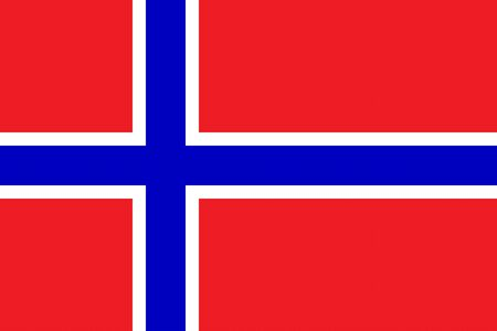 all european flags: Flag of Norway Illustration