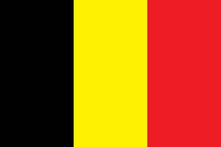all european flags: Flag of Belgium Illustration