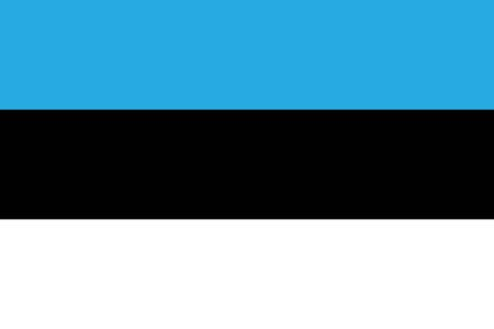 all european flags: Flag of Estonia
