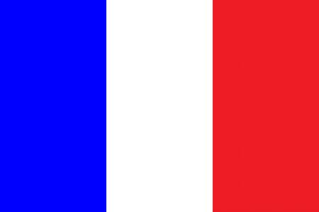 all european flags: Flag of France Illustration