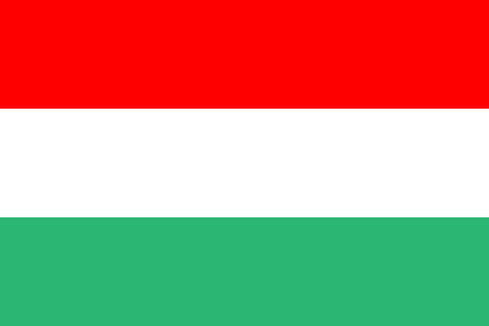 all european flags: Flag of Hungary Illustration