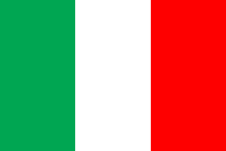 all european flags: Flag of Italy