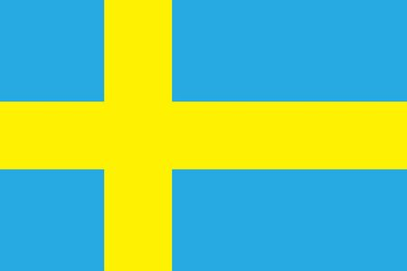 all european flags: Flag of Sweden