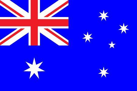 world flag: Flag of Commonwealth of Australia