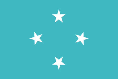 federated: Flag of Federated States of Micronesia