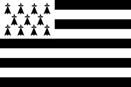 brittany: Flags of brittany