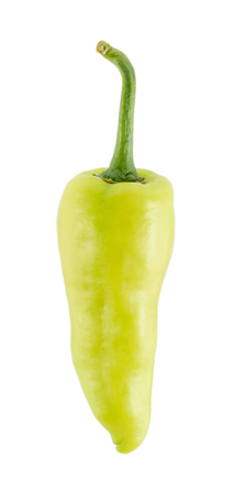 white pepper: Sweet pepper isolated on a white background