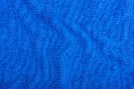 Blue Microfiber Cloth Background