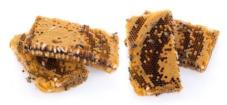 honeycomb isolated on white background Banco de Imagens