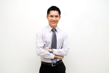 Asian business male Stock Photo