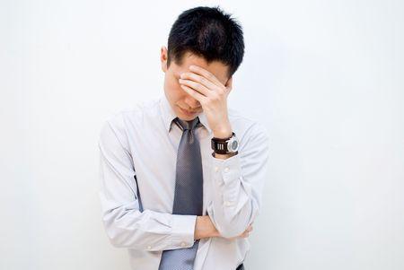 constipated: Hombres de negocios de estr�s