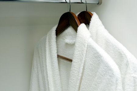 Bathrobe  Stock Photo
