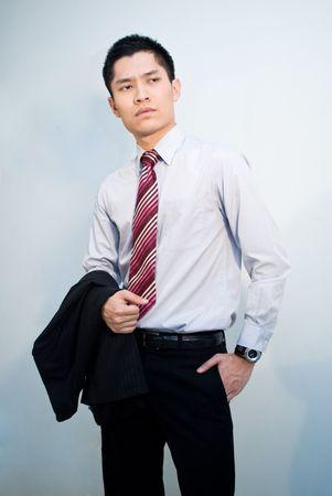 Asian guy posing photo
