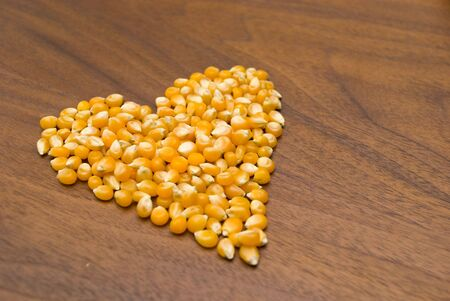 corn kernel: Love Shape Corn Kernel