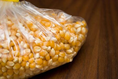 A bag of corn kernel photo