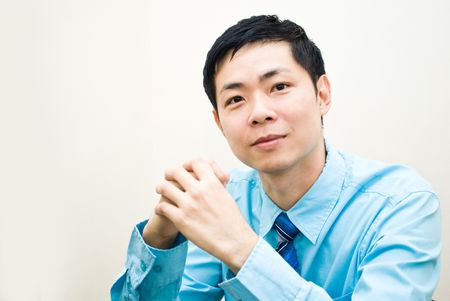 Asian businesman portrait