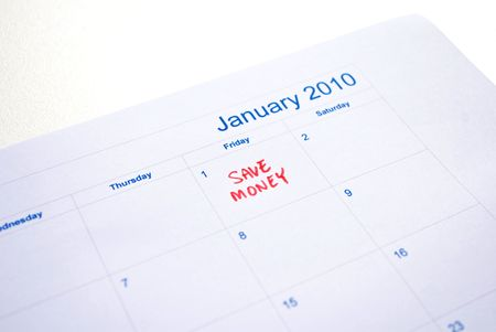 New year - save money photo