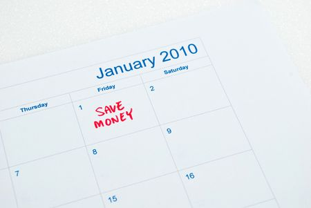 New year - save money Stock Photo - 5770120