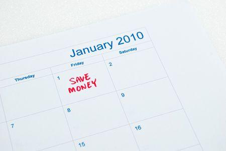 New year - save money Stock Photo - 5770120