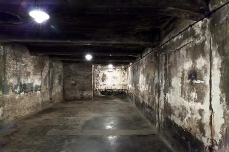 auschwitz: Gas Chamber Auschwitz, Poland.