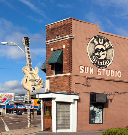 Sun Studio is a recording studio opened by rock-and-roll pioneer Sam Phillips at 706 Union Avenue in Memphis, Tennessee, USA.